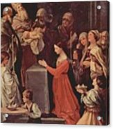 The Purification Of The Virgin 1640 Acrylic Print