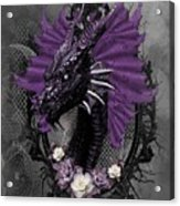 The Purple Dragon Acrylic Print