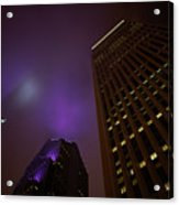 The Purple Fog Acrylic Print