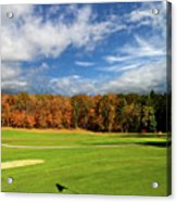 The Putting Green Acrylic Print