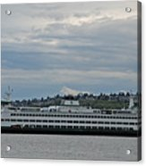 The Puyallup Ferry In Seattle Acrylic Print