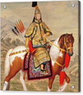 The Qianlong Emperor Acrylic Print