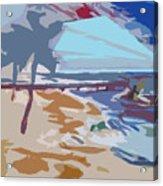 The Quay-seaside Acrylic Print