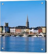 The Quays, Wexford, County Wexford Acrylic Print