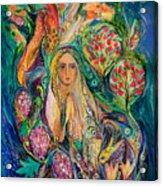 The Queen Of Shabbat Acrylic Print