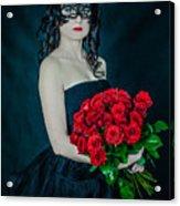 the Queen of spades Acrylic Print