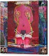 The Queen Presentation Acrylic Print