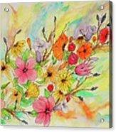 The Queens Garden Acrylic Print