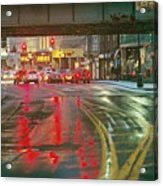 The Rain Painting Acrylic Print