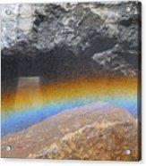 The Rainbow Fountain 5-5 Acrylic Print