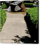 The Rainbow Fountain I-5 Acrylic Print