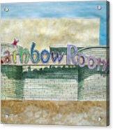 The Rainbow Room Acrylic Print