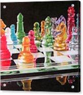 The Rainbow Warriors Acrylic Print