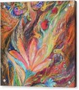 The Rainbow's Daughter Acrylic Print