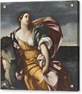 The Rape Of Europa Acrylic Print