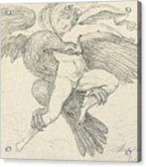 The Rape Of Ganymede Acrylic Print