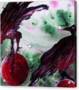 The Raven Still Beguiling Acrylic Print