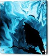 The Raven's Blues Acrylic Print