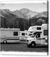 The Real Alaska - Rv Skyline Acrylic Print