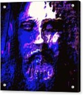 The Real Face Of Jesus Acrylic Print