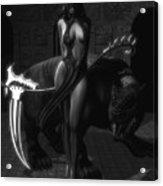 The Reaper Acrylic Print