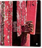 The Red Barn 4 Acrylic Print