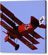 The Red Baron II Acrylic Print