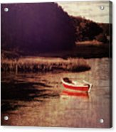 The Red Boat Acrylic Print