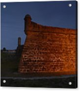 The Red Castillo Acrylic Print