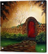 The Red Door Acrylic Print