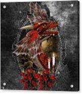 The Red Dragon Acrylic Print