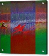 The Red Dragon Tatoo Acrylic Print