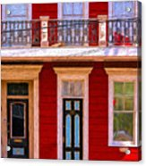 The Red House-nola-faubourg Marigny Acrylic Print