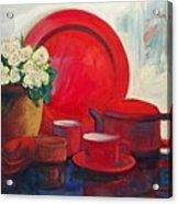 The Red Still Life Acrylic Print