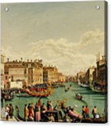 The Redentore Feast In Venice Acrylic Print