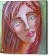 The Redhead Acrylic Print