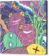 The Reef Acrylic Print by Wendy Hagelgans