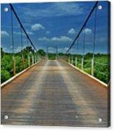 The Regency Bridge 3 Acrylic Print