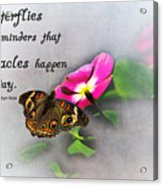 The Reminder Acrylic Print