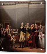 The Resignation Of General George Washington Acrylic Print