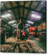 The Restoration Shed Acrylic Print