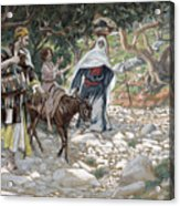 The Return From Egypt Acrylic Print by Tissot