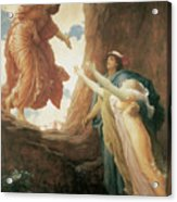 The Return Of Persephone Acrylic Print by Frederick Leighton