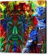 The Return Of The Adamastor  Acrylic Print