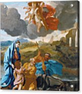 The Return Of The Holy Family From Egypt Acrylic Print