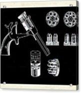 The Revolver Acrylic Print