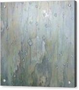 The Rhythm Of Falling Rain Acrylic Print