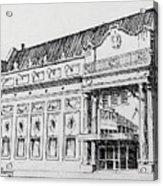 The Rialto Theater Deer Lodge Montana Acrylic Print