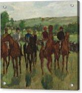 The Riders, 1885 Acrylic Print