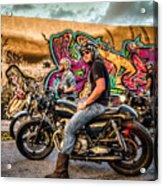 The Riders Acrylic Print